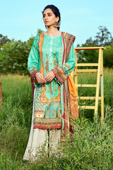 Picture of MOTIFZ 2886-Ball-Tree Digital Printed Lawn Unstitched