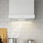 Picture of IKEA LAGAN Wall Mounted Extractor Hood, White 60 cm