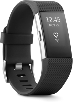 FITBIT  ACTIVITY TRACKER CHARGE 2 WRISTBAND     in     BLACK