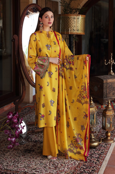 Nishat 42101531-Voil EMB Lawn Cambric