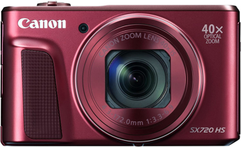 CANON POWERSHOT HS  CAMERA      in      RED