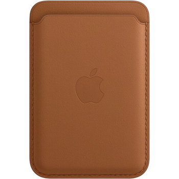 APPLE IPHONE  LEATHER WALLET  MAGSAFE     in   SADDLE BROWN