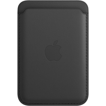 APPLE  IPHONE  LEATHER   WALLET   MAGSAFE     in     BLACK
