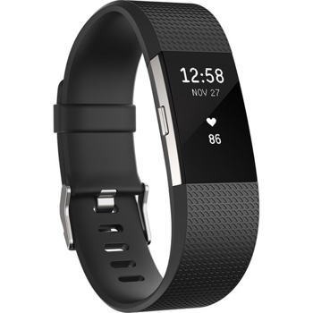 FITBIT  ACTIVITY  TRACKER  CHARGE 2  WRISTBAND  LARGE   in BLACK