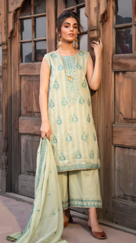 Picture of Pakeeza- Neno Karra Embroidered Lawn - D'07