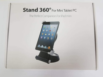 Unknown  Brand   Stand  360  Degree   For  Mini  Tablet  PC    in   Black