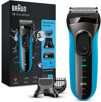 BRAUN SERIES3  SHAVE STYLE  ELECTRIC  SHAVER