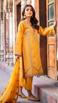 Picture of Pakeeza- Neno Karra Embroidered Lawn - D'04