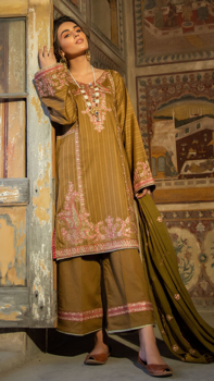 Picture of Pakeeza- Neno Karra Embroidered Lawn - D'10
