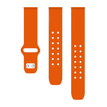 AFFINITY  BANDS   SILICONE  WATCH  SPORT  BAND      in      ORANGE