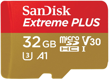 Sandisk  Memory Card Micro  Sd  Extreme Plus  Adapter