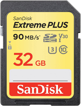 Sandisk Memory Card  Sd   Extreme Plus