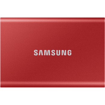 SAMSUNG SSD  T7  PORTABLE       IN     RED
