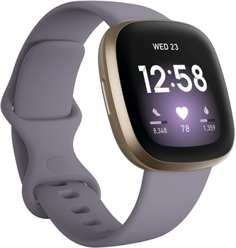 FITBIT  ACTIVITY TRACKERVERSA 3 GPS       in     SOFT GOLD ALUMINUM / THISTLE INFINITY