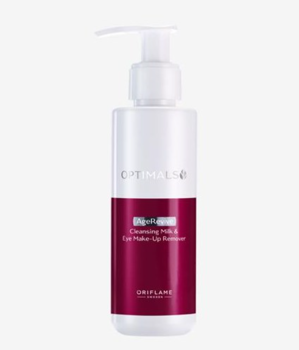 OPTIMALS Age Revive Cleansing Milk & Eye Make-up Remover