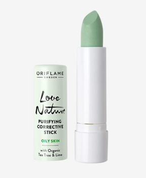 LOVE NATURE Purifying Corrective Stick with Organic Tea Tree & Lime