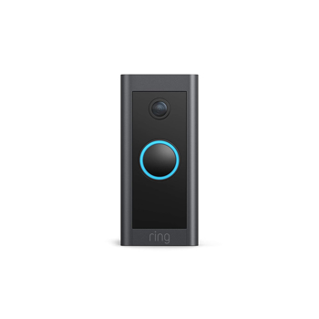 RING VIDEO DOORBELL WIRED      in      BLACK