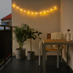 IKEA SOLVINDEN LED Lighting Chain With 12 Bulbs, Battery-Operated Outdoor/Fish Clear in pakistan
