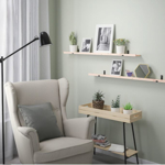 IKEA STODSTORP Picture Ledge, 115 cm White stained in pakistan