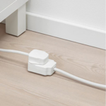 IKEA KOPPLA Extension Cord, Earthed 5 m White in pakistan