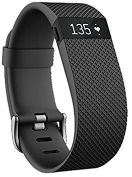 FITBIT  ACTIVITY TRACKER CHARGE  HR WRISTBAND    in     BLACK