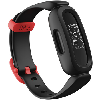 FITBIT  ACTIVITYTRACKE RACE 3 FOR  KIDS   in   BLACK / SPORT RED