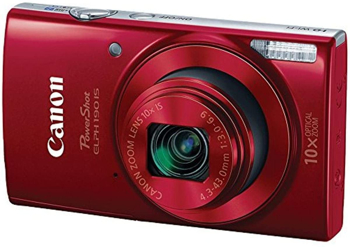 CANON POWERSHOT ELPH   IS CAMERA   IN   RED