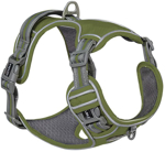 Adjustable Dog Harness Night Reflective Strip Dog Vest Wear Proof and Comfortable Puppy Harness