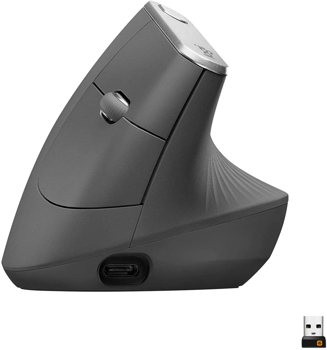 LOGITECH MX VERTICAL WIRELESS MOUSE   in    GRAPHITE