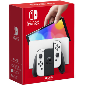 NINTENDO CONSOLE SWITCH OLED     in    WHITE